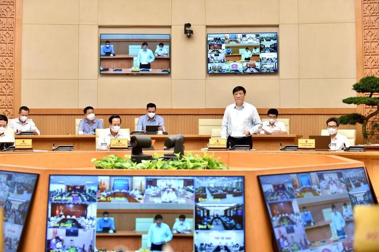 Thủ tướng Chính phủ triệu tập Hội nghị trực tuyến với 27 tỉnh, thành phố phía Nam về phòng chống COVID-19 ảnh 2