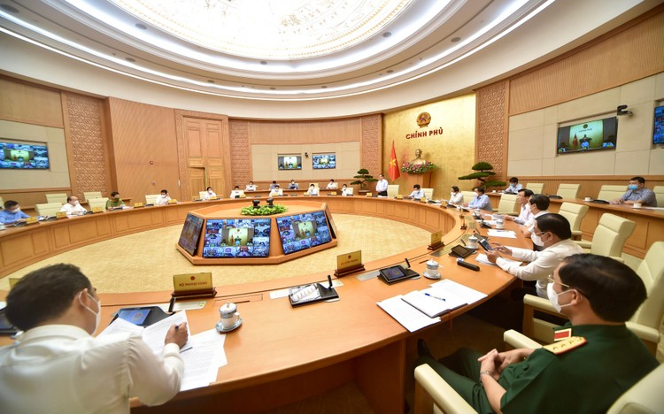 Thủ tướng Chính phủ triệu tập Hội nghị trực tuyến với 27 tỉnh, thành phố phía Nam về phòng chống COVID-19 ảnh 3