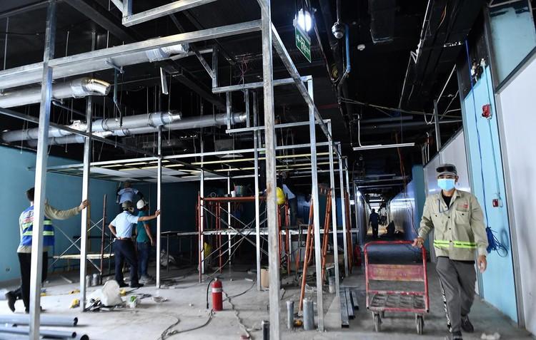 Trưng dụng căn hộ mẫu ở Thuận Kiều Plaza làm nơi nghỉ ngơi cho bác sĩ ảnh 10