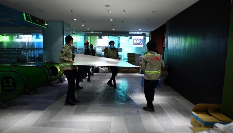 Trưng dụng căn hộ mẫu ở Thuận Kiều Plaza làm nơi nghỉ ngơi cho bác sĩ ảnh 8