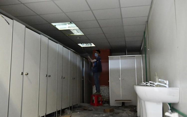 Trưng dụng căn hộ mẫu ở Thuận Kiều Plaza làm nơi nghỉ ngơi cho bác sĩ ảnh 9