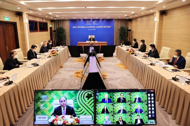 Chủ tịch nước đề xuất 3 nội dung hợp tác APEC ứng phó COVID-19 ảnh 1