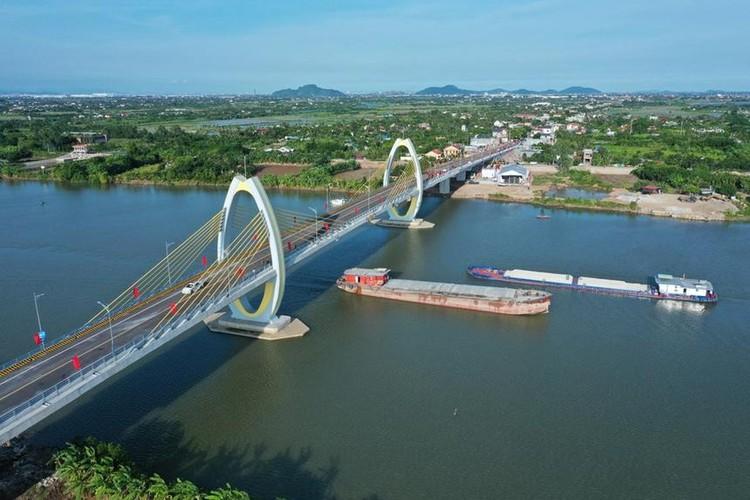 Khánh thành 2 cây cầu trăm tỷ nối Hải Phòng - Hải Dương ảnh 1