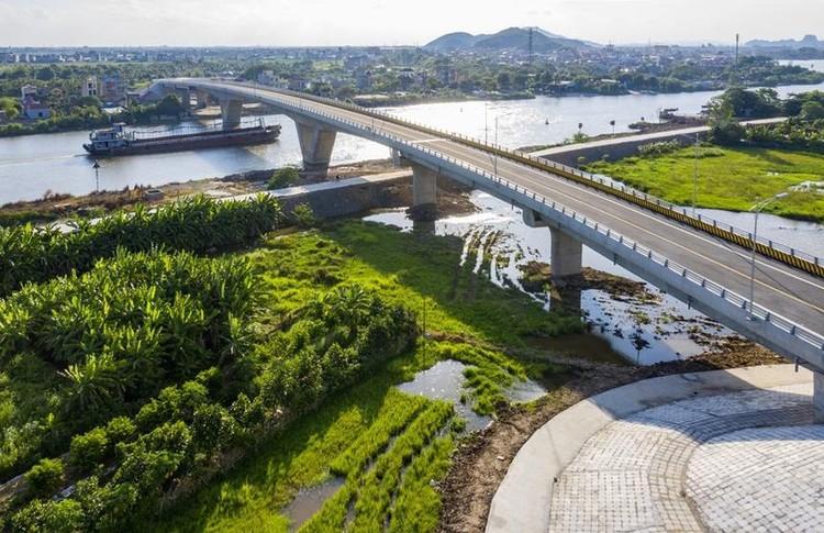 Khánh thành 2 cây cầu trăm tỷ nối Hải Phòng - Hải Dương ảnh 2