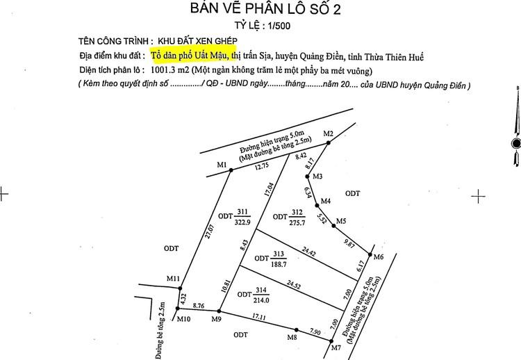 Ngày 13/8/2021, đấu giá quyền sử dụng 10 lô đất tại huyện Quảng Điền, tỉnh Thiên Thiên Huế ảnh 5