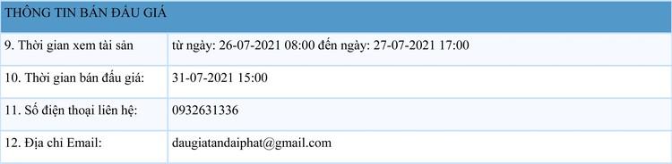 Ngày 31/7/2021, đấu giá 2 xe ô tô cũ, hỏng tại Hà Nội ảnh 2