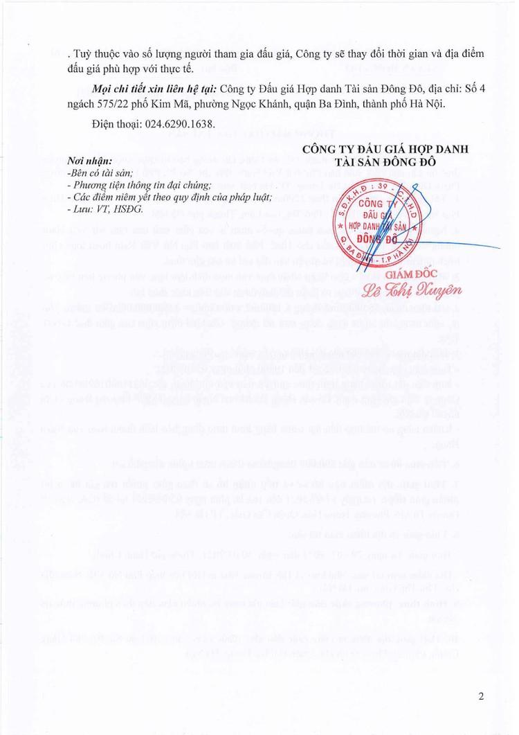 Ngày 5/8/2021, đấu giá quyền thuê Nhà kho và Hội trường tại Hà Nội ảnh 3