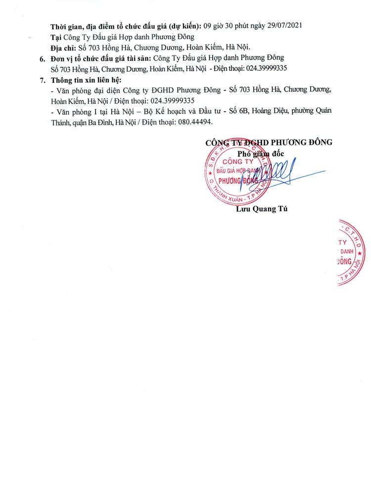 Ngày 29/7/2021, đấu giá 3 ô tô thanh lý cũ hỏng tại Hà Nội ảnh 3