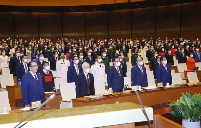 Hình ảnh khai mạc Kỳ họp thứ nhất, Quốc hội khóa XV ảnh 2