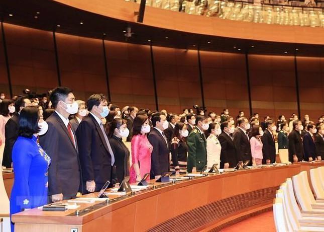 Hình ảnh khai mạc Kỳ họp thứ nhất, Quốc hội khóa XV ảnh 3
