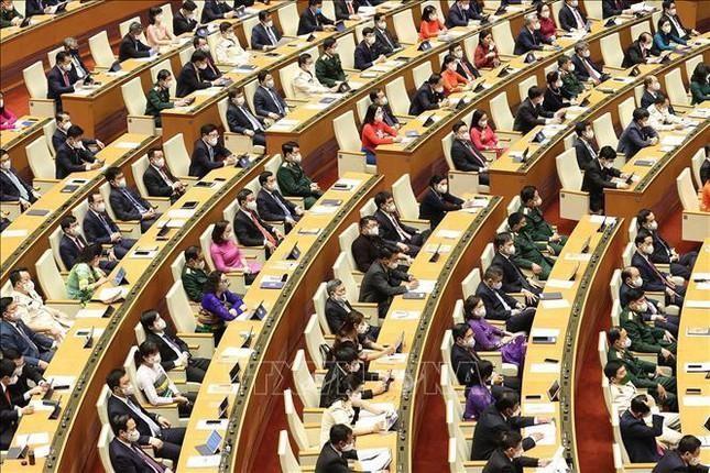 Hình ảnh khai mạc Kỳ họp thứ nhất, Quốc hội khóa XV ảnh 8