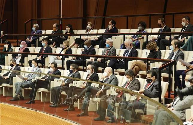Hình ảnh khai mạc Kỳ họp thứ nhất, Quốc hội khóa XV ảnh 9