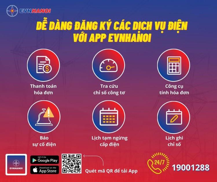 App EVNHANOI - mọi dịch vụ điện đều nằm gọn trên chiếc điện thoại thông minh ảnh 1