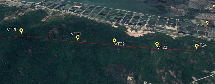 EVNNPT khẩn trương triển khai dự án trọng điểm quốc gia Đường dây 500kV Vân Phong - Vĩnh Tân ảnh 1