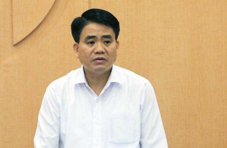 Khởi tố nguyên Chủ tịch UBND TP. Hà Nội Nguyễn Đức Chung trong vụ án vi phạm quy định về đấu thầu tại Sở KH&ĐT Hà Nội ảnh 1