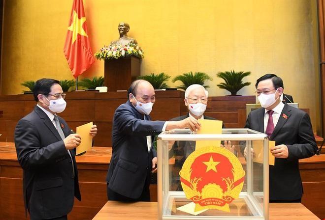 Ông Nguyễn Xuân Phúc đắc cử Chủ tịch nước nhiệm kỳ 2021-2026 ảnh 3