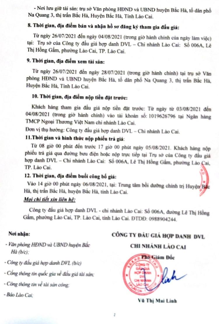 Ngày 6/8/2021, đấu giá xe ô tô Mitshubishi Pajero tại tỉnh Lào Cai ảnh 3