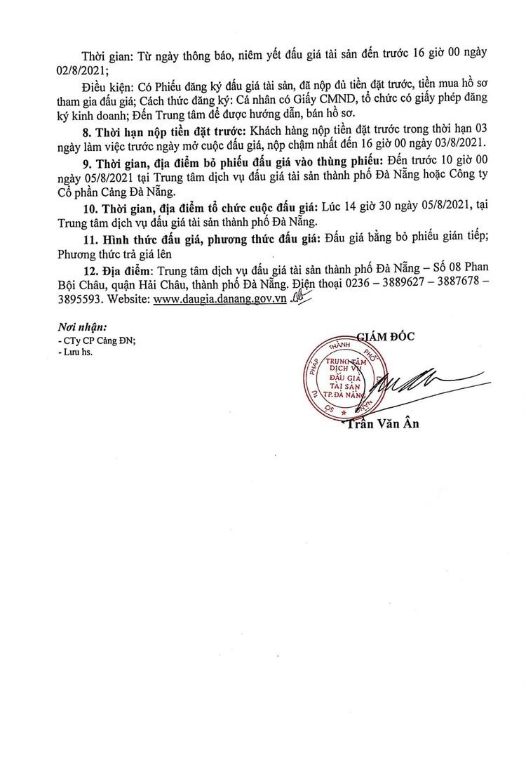 Ngày 5/8/2021, đấu giá 02 Cẩu Kamaz 25 tấn tại thành phố Đà Nẵng ảnh 3