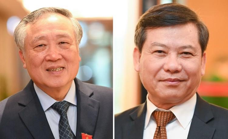 Ông Nguyễn Hòa Bình và ông Lê Minh Trí giữ chức Chánh án TAND, Viện trưởng VKSND tối cao ảnh 1