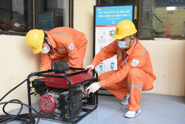 EVNHANOI đảm bảo cung ứng điện phục vụ công tác phòng, chống dịch Covid-19 ảnh 1