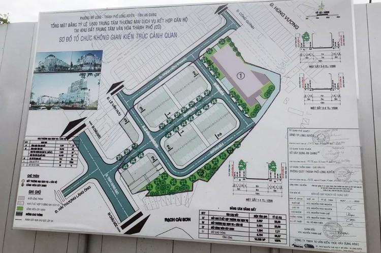 Angimex đấu giá thành công lô đất vàng tại trung tâm thành phố Long Xuyên ảnh 1