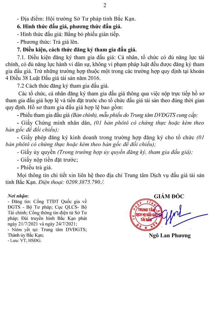 Ngày 6/8/2021, đấu giá xe ô tô TOYOTA tại tỉnh Bắc Kạn ảnh 3