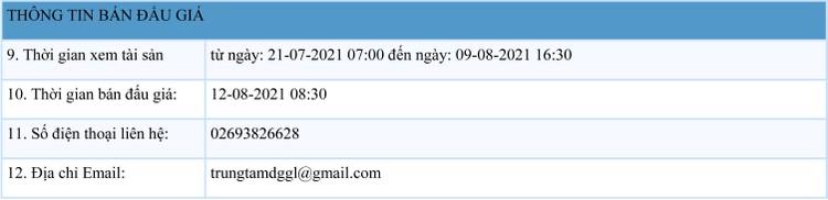 Ngày 12/8/2021, đấu giá quyền sử dụng 62 lô đất tại huyện Ia Grai, tỉnh Gia Lai ảnh 2