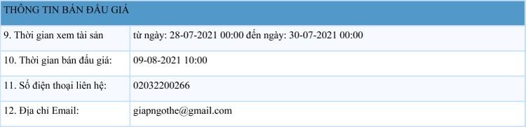 Ngày 9/8/2021, đấu giá 04 xe ô tô đã qua sử dụng tại tỉnh Quảng Ninh ảnh 2