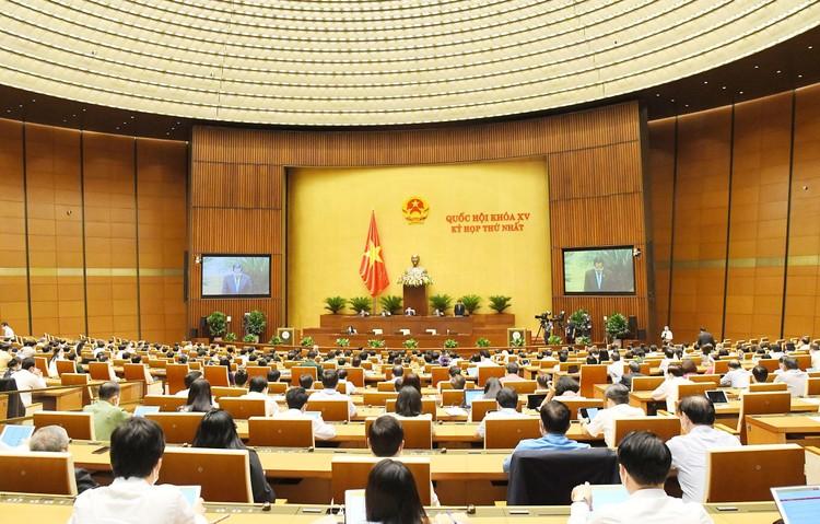 Thông cáo báo chí số 08, Kỳ họp thứ nhất, Quốc hội khóa XV ảnh 4