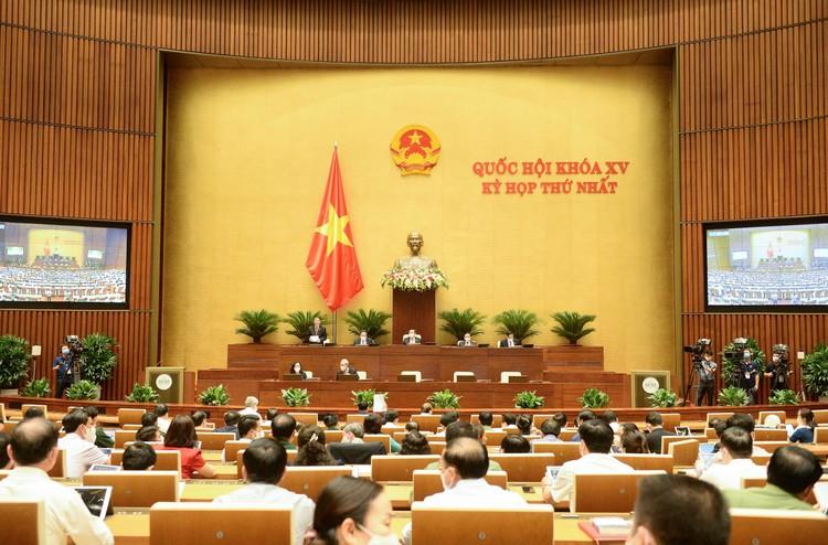 Thông cáo báo chí số 08, Kỳ họp thứ nhất, Quốc hội khóa XV ảnh 2