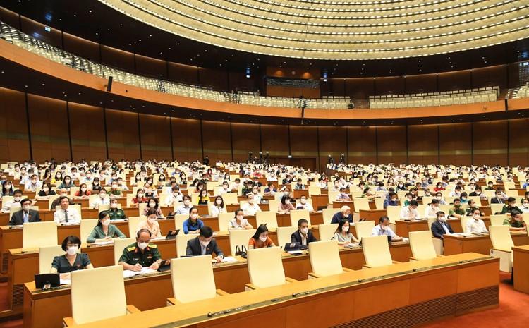 Ngày 28/7, Quốc hội khoá XV sẽ kết thúc kỳ họp thứ nhất sau 9 ngày làm việc liên tục ảnh 1