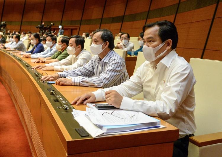 Quốc hội đồng ý Chính phủ nhiệm kỳ 2021-2026 có 4 Phó Thủ tướng ảnh 1