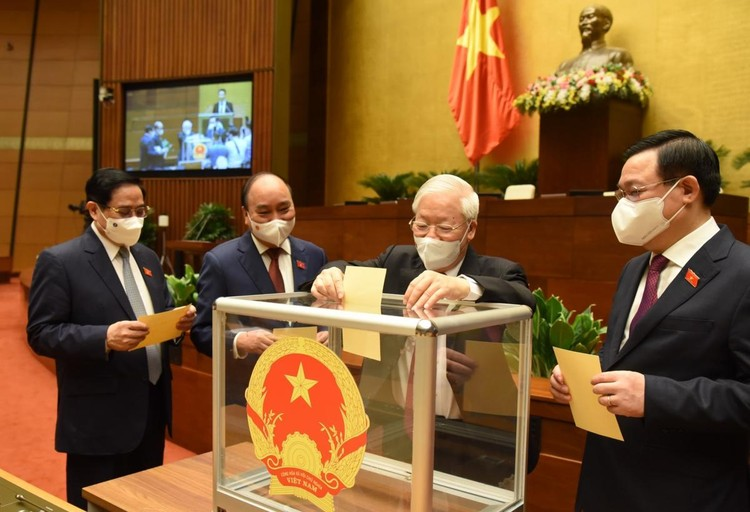 Quốc hội phê chuẩn bổ nhiệm 4 Phó Thủ tướng Chính phủ và 22 Bộ trưởng, trưởng ngành nhiệm kỳ 2021 - 2026 ảnh 2