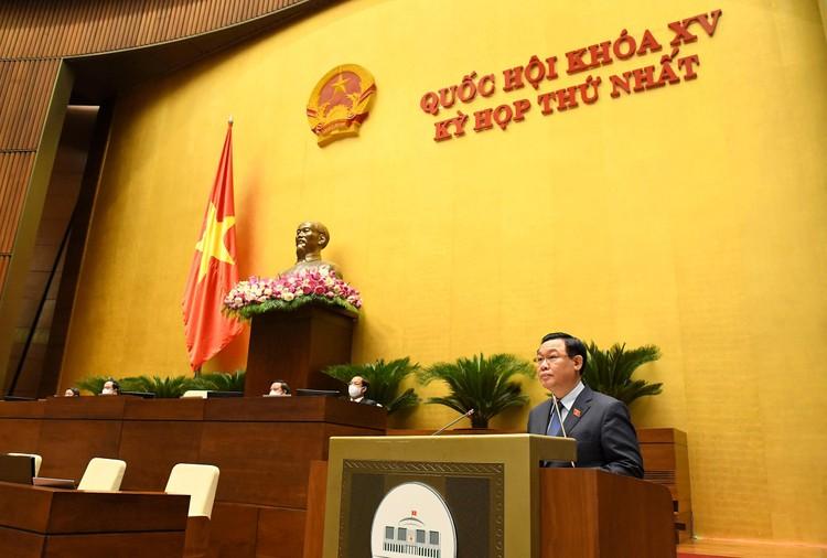 Bế mạc Kỳ họp thứ nhất, Quốc hội khóa XV, rút ngắn 8 ngày so với kế hoạch ảnh 1