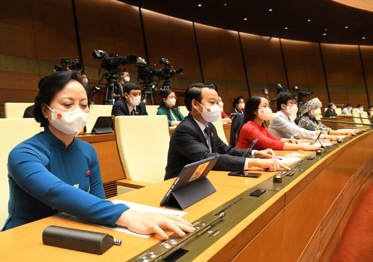 Quốc hội đồng ý trao cơ chế đặc biệt để Chính phủ và Thủ tướng chống đại dịch Covid-19 ảnh 2
