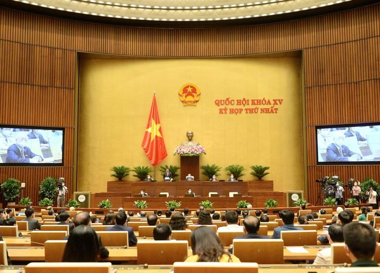 Quốc hội đồng ý trao cơ chế đặc biệt để Chính phủ và Thủ tướng chống đại dịch Covid-19 ảnh 1