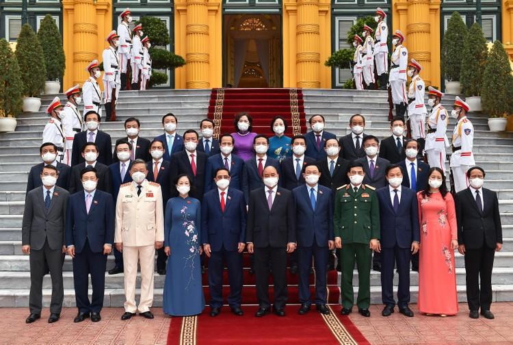 Chủ tịch nước: Chính phủ sẽ đẩy lùi đại dịch, sớm đưa đất nước trở về 'trạng thái bình thường mới' ảnh 3