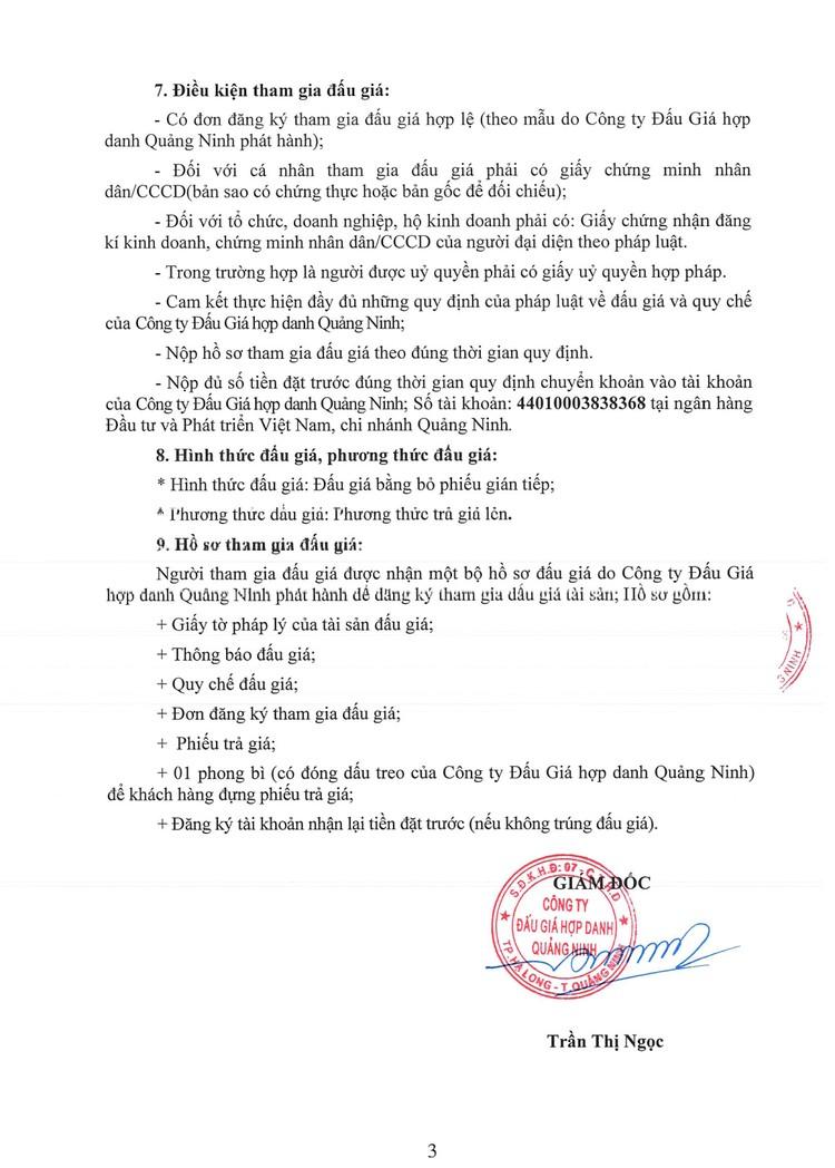 Ngày 9/8/2021, đấu giá 2 xe ô tải tại tỉnh Quảng Ninh ảnh 5
