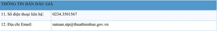 Ngày 15/8/2021, đấu giá quyền sử dụng đất tại huyện Phú Lộc, tỉnh Thừa Thiên Huế ảnh 2