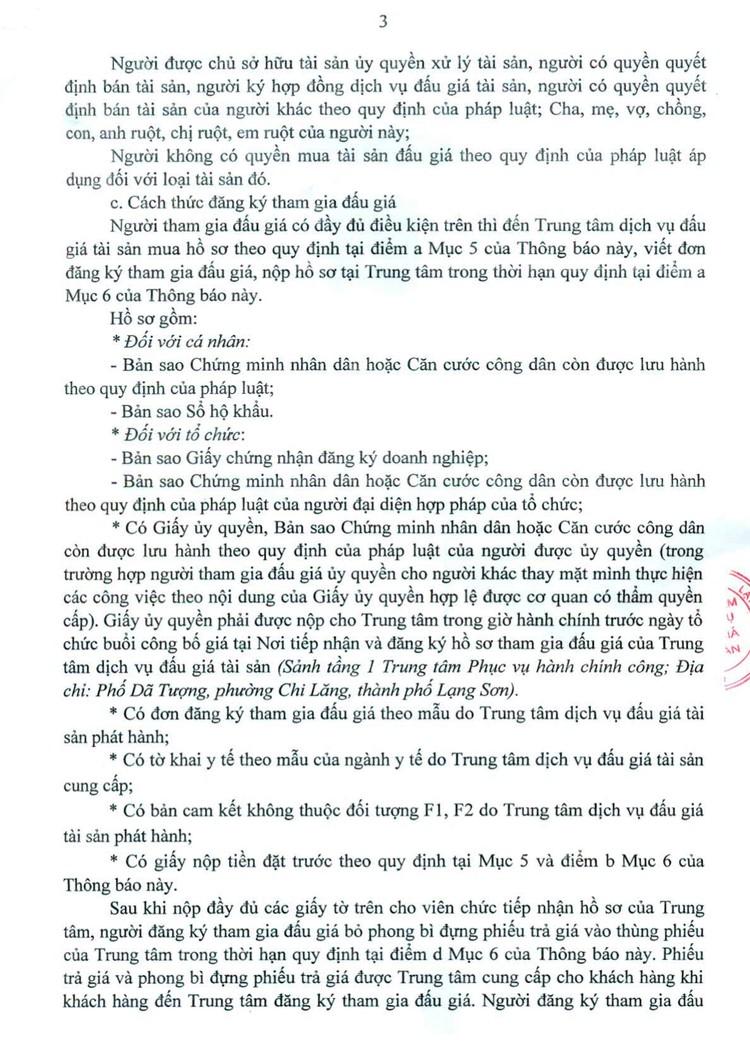 Ngày 6/8/2021, đấu giá 2 thang máy chở người tại tỉnh Lạng Sơn ảnh 4