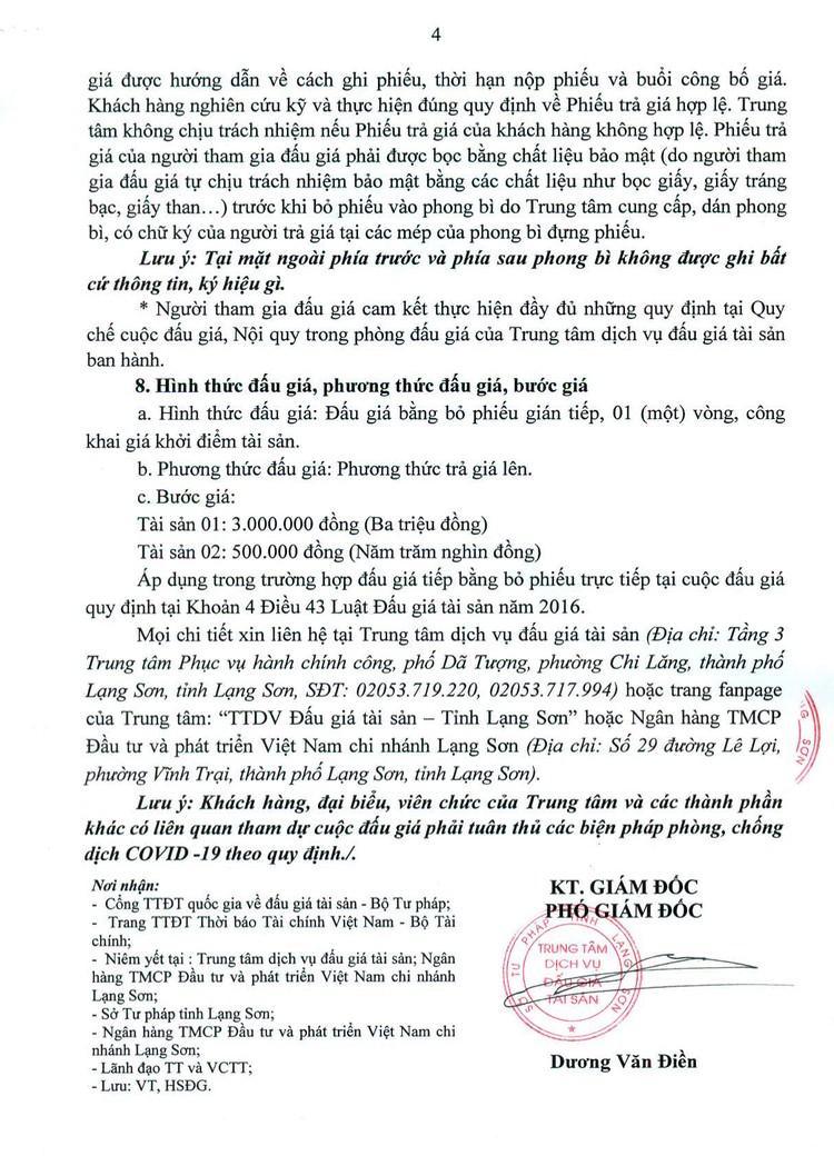 Ngày 6/8/2021, đấu giá 2 thang máy chở người tại tỉnh Lạng Sơn ảnh 5