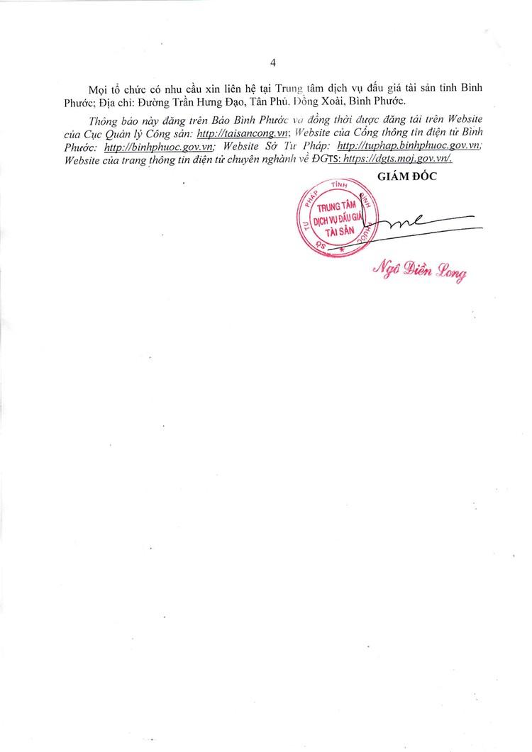 Ngày 13/8/2021, đấu giá quyền sử dụng 17 lô đất đất tại huyện Bù Đăng, tỉnh Bình Phước ảnh 5