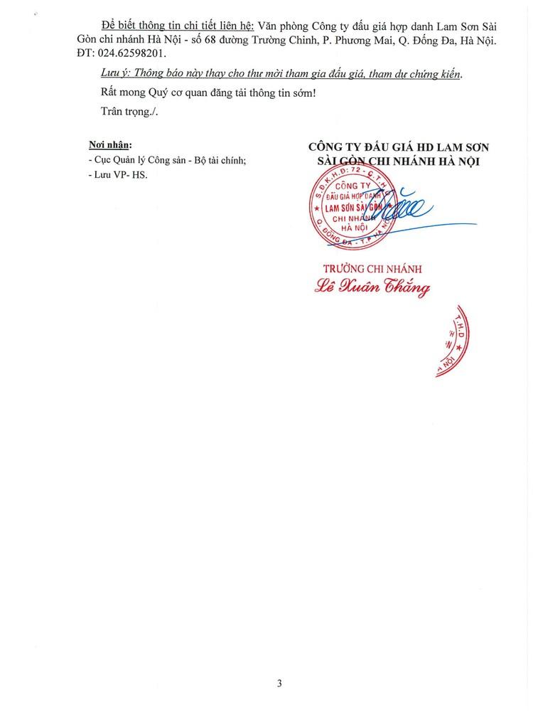 Ngày 12/8/2021, đấu giá nhà máy nước khoáng Thiên An tại huyện Quỳ Hợp, tỉnh Nghệ An ảnh 9