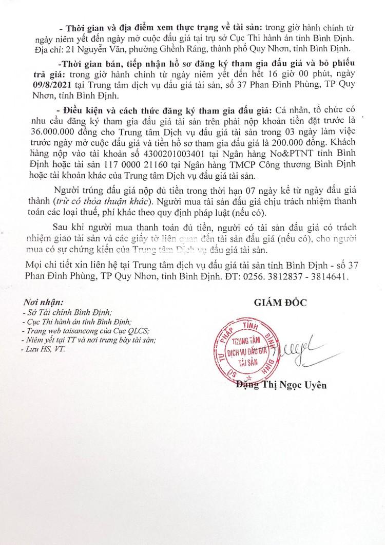 Ngày 12/8/2021, đấu giá xe ô tô TOYOTA LANDCRUISER tại tỉnh Bình Định ảnh 3