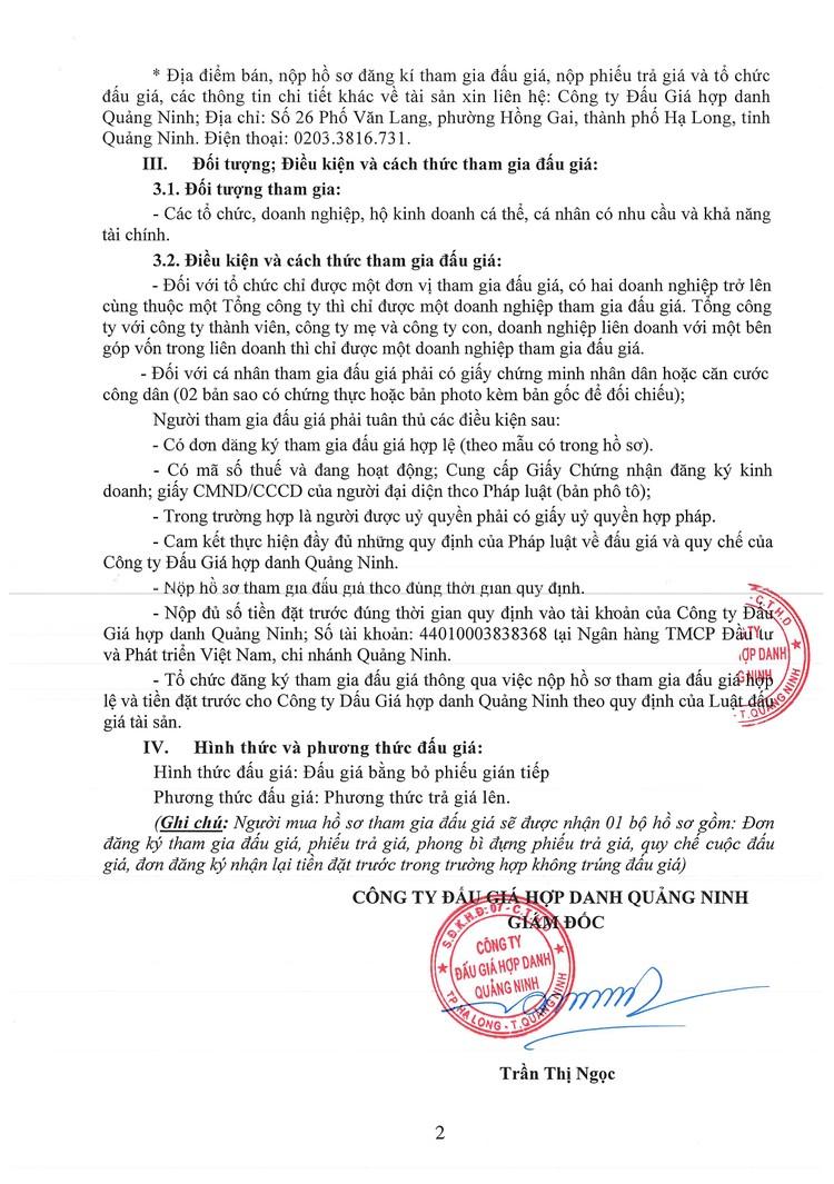 Ngày 13/8/2021, đấu giá 02 tàu cứu nạn tại tỉnh Quảng Ninh ảnh 3