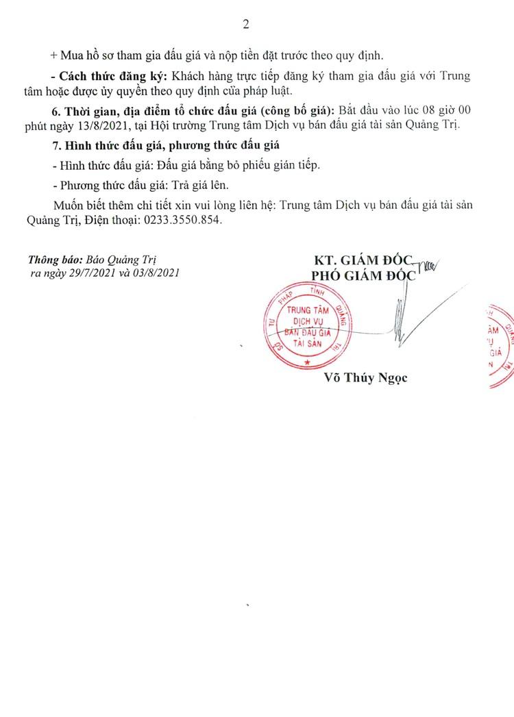 Ngày 13/8/2021, đấu giá xe ô tô, máy đào bánh xích, xe mô tô đã qua sử dụng tại tỉnh Quảng Trị ảnh 3