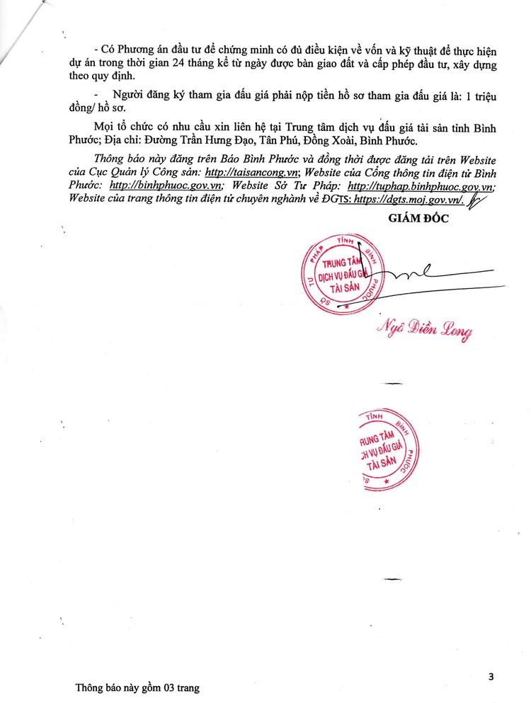 Ngày 30/8/2021, đấu giá quyền sử dung đất tại huyện Bù Gia Mập, tỉnh Bình Phước ảnh 4