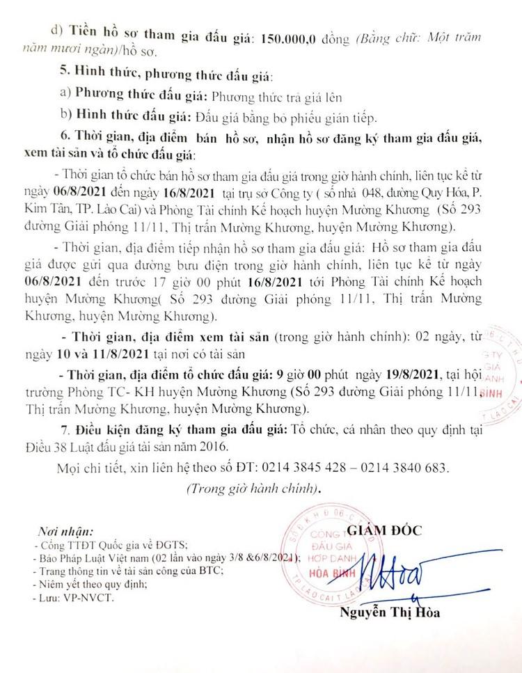 Ngày 19/8/2021, đấu giá 2 xe ô tô con và 35 xe máy đã qua sử dụng tại tỉnh Lào Cai ảnh 4