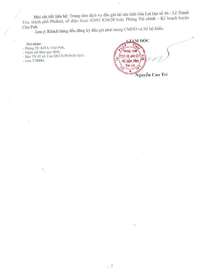 Ngày 23/8/2021, đấu giá quyền sử dụng 26 lô đất tại huyện Chư Pưh, tỉnh Gia Lai ảnh 4