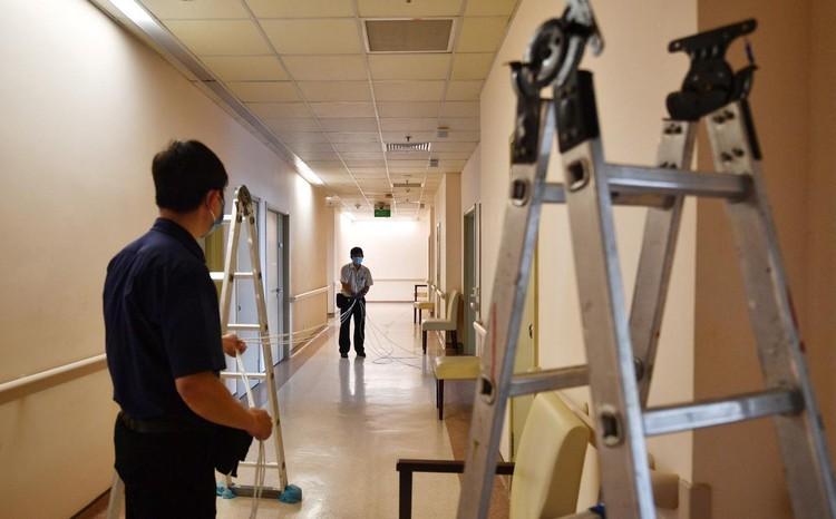 36 giờ thành lập Trung tâm Hồi sức Covid-19 tại TP.HCM ảnh 1
